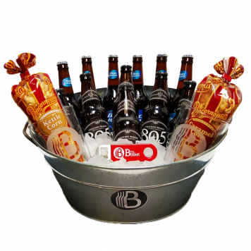 BroBasket – Double The Beer, Double The Snacks