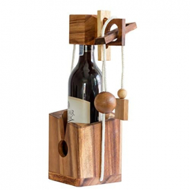 Bottle Puzzle for Wine Lovers