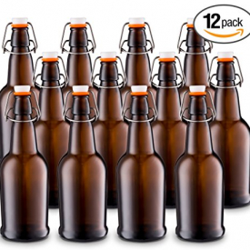 Home Brewing 16 oz Glass Bottles