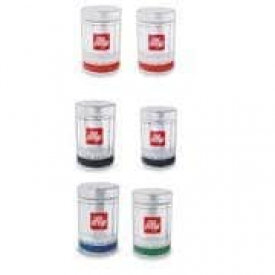 Illy Ground Coffee Sampler Case of 6