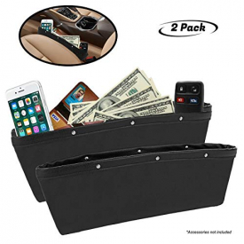 Full Leather Console Pocket Organizer