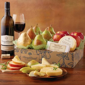 Harry and David – Wine, Pears and Cheese