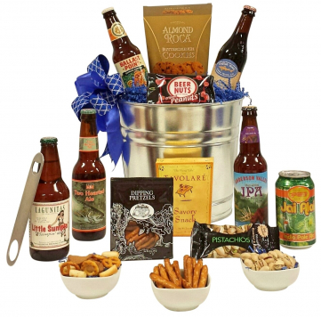 Top Rated Craft Beer Gift Basket from GiveThemBeer