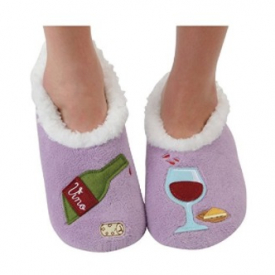 Womens Snoozies Splitz Slipper Socks