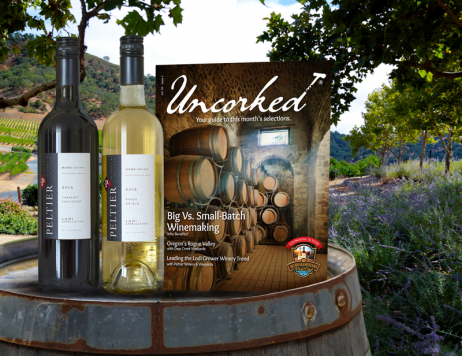 Gift 3 Months of The California Wine Club – Get a Bottle of Sparkling Wine FREE
