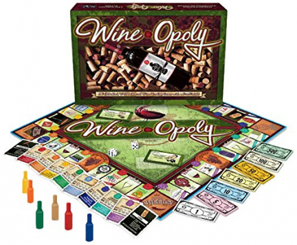 Wine-Opoly Wine Board game