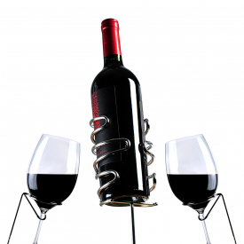 Picnic Wine Stakes and Bottle Holder